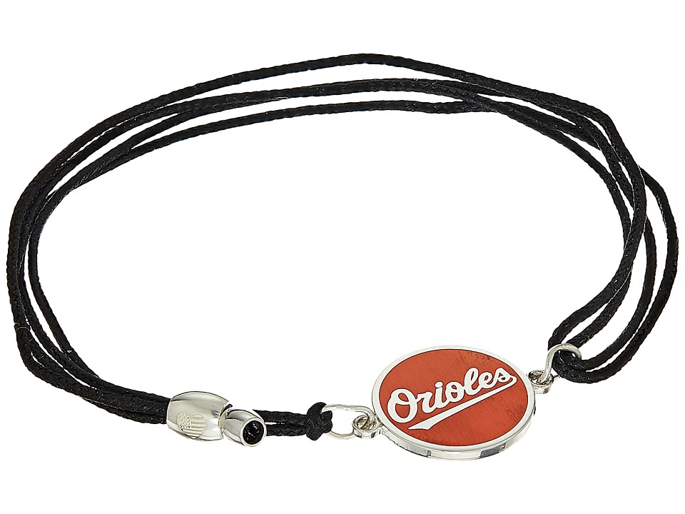 Alex and Ani - Baltimore Orioles Kindred Cord Bracelet (Sterling Silver) Bracelet