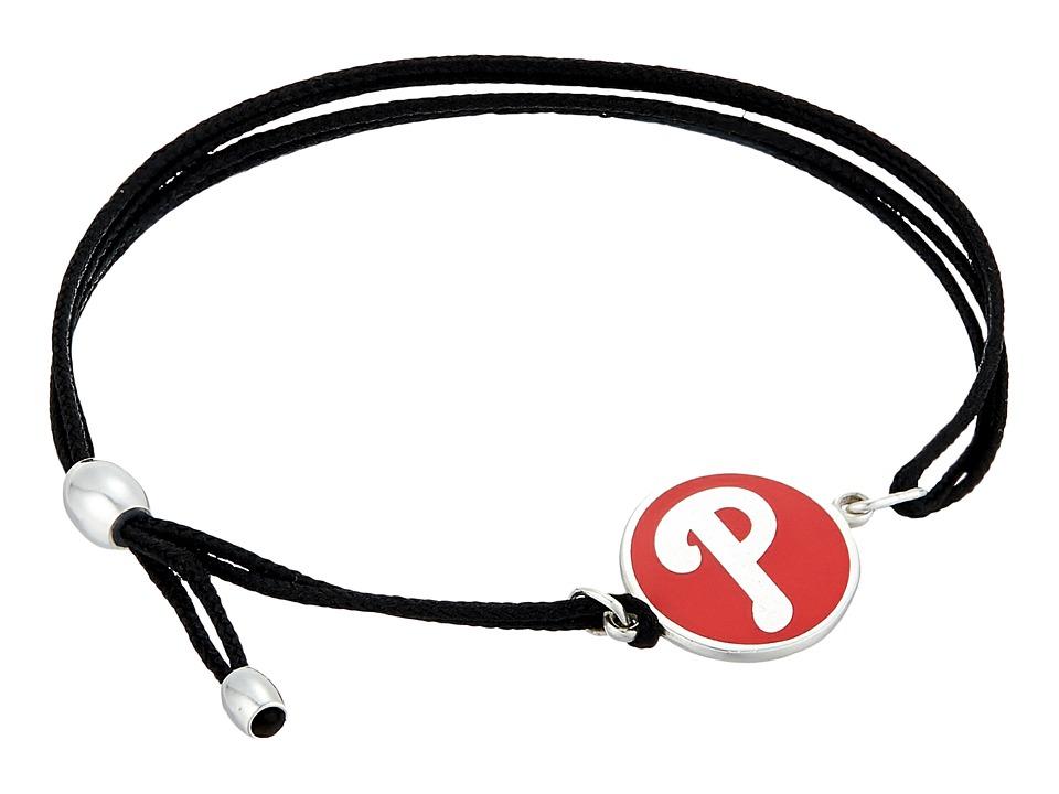 Alex and Ani - Philadelphia Phillies Kindred Cord Bracelet (Sterling Silver) Bracelet
