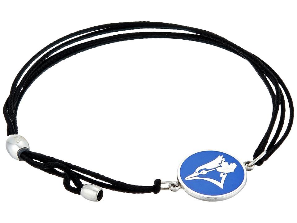Alex and Ani - Toronto Blue Jays Kindred Cord Bracelet (Sterling Silver) Bracelet