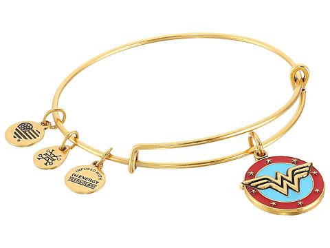 Alex and Ani Wonder Woman Logo Bangle - Rafaelian Gold