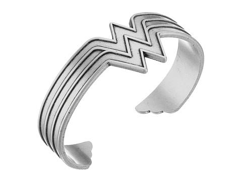 Alex and Ani Wonder Woman Cuff Bracelet - Rafaelian Silver