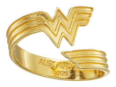 Alex and Ani Wonder Woman Ring Wrap - 14K Gold Plated