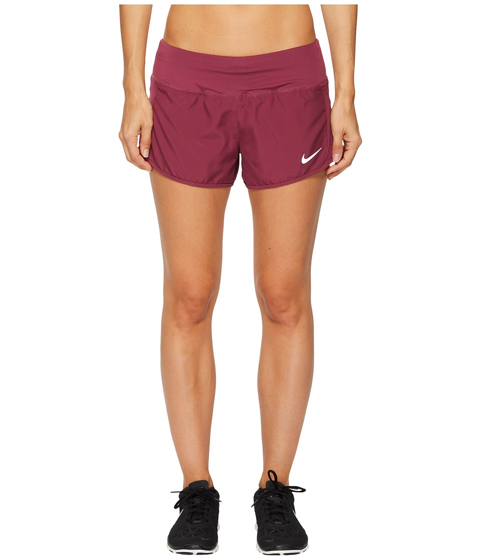 Nike Crew Shorts (Tea Berry/Tea Berry) Women