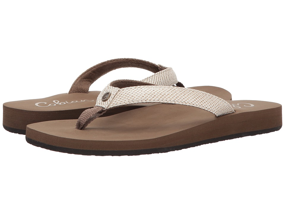 Cobian - Fiesta Skinny Bounce (Tan) Women's Sandals