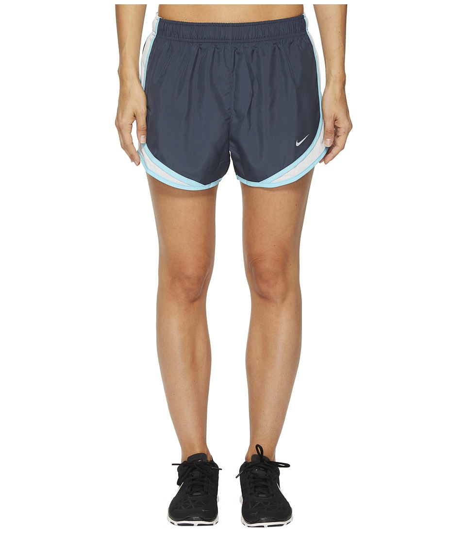 Nike Dry Tempo Short (Thunder Blue/Pure Platinum/Wolf Grey) Women