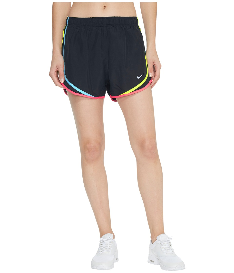 Nike Dry Tempo Short (Black/Polarized Blue/Wolf Grey) Women
