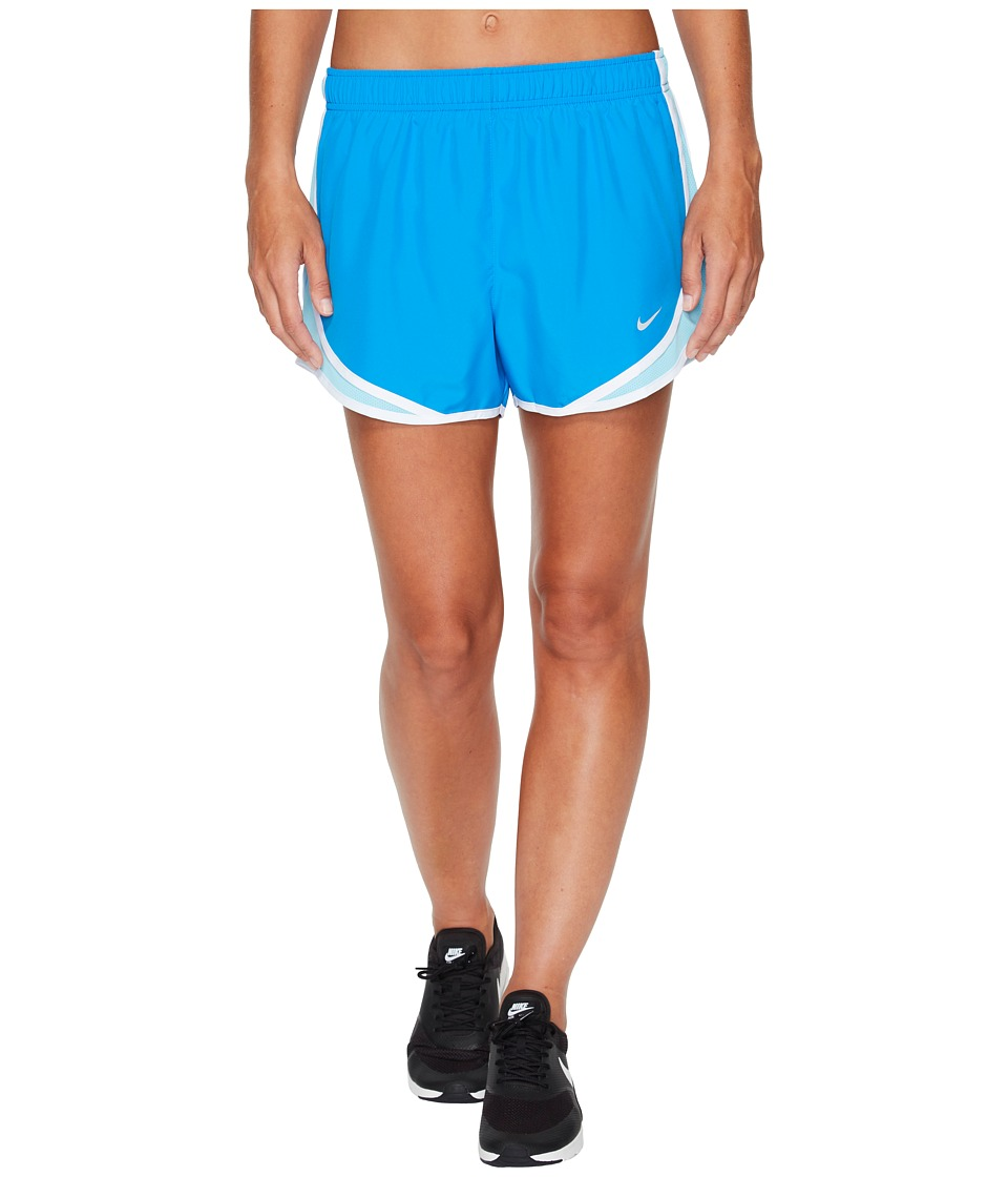 Nike Dry Tempo Short (Light Photo Blue/Polarized Blue/Wolf Grey) Women