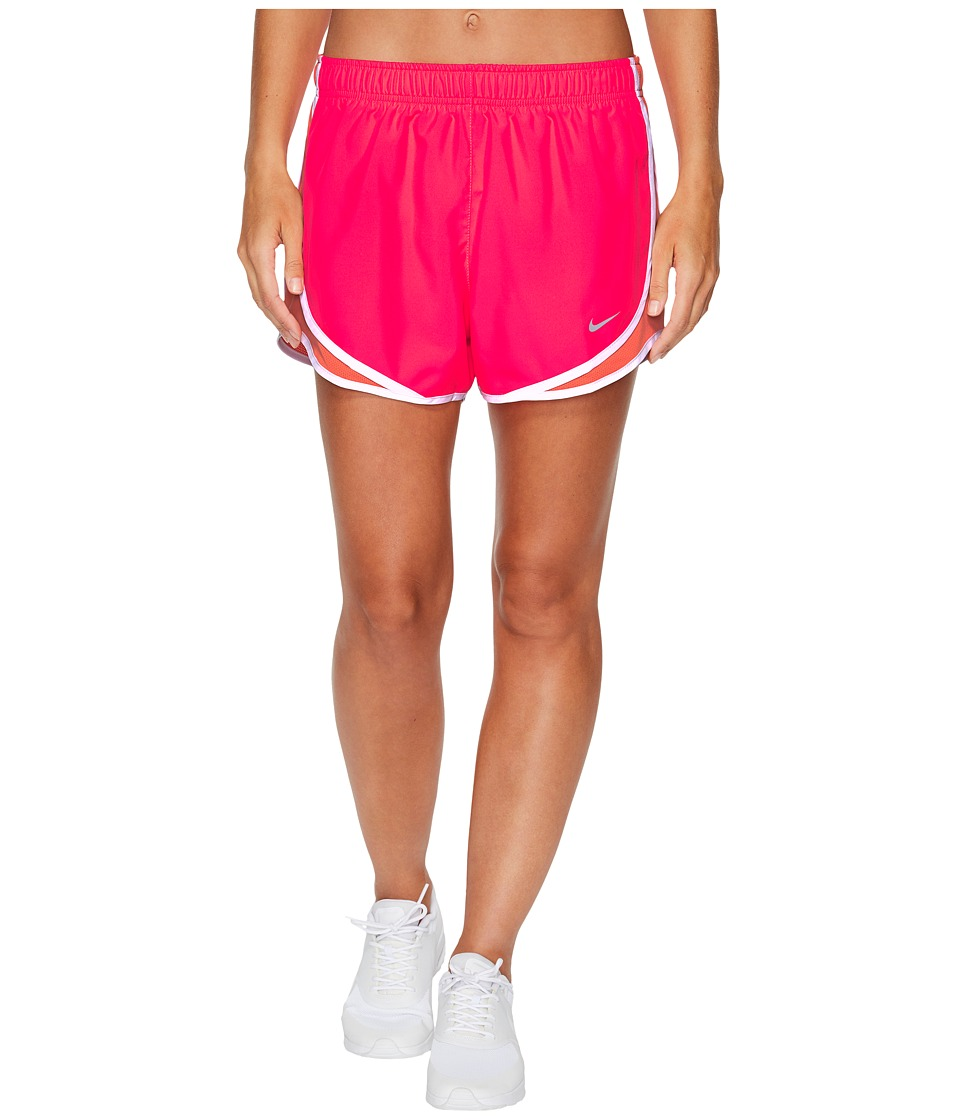 Nike Dry Tempo Short (Racer Pink/Light Wild Mango/White/Wolf Grey) Women