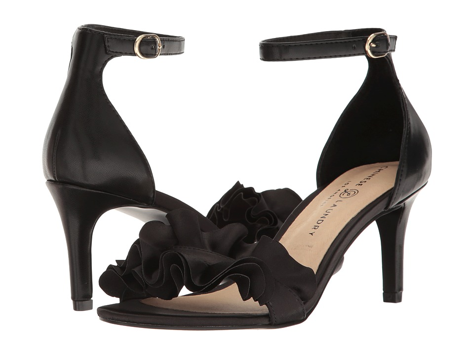 Chinese Laundry - Remmy (Black Smooth Satin) High Heels