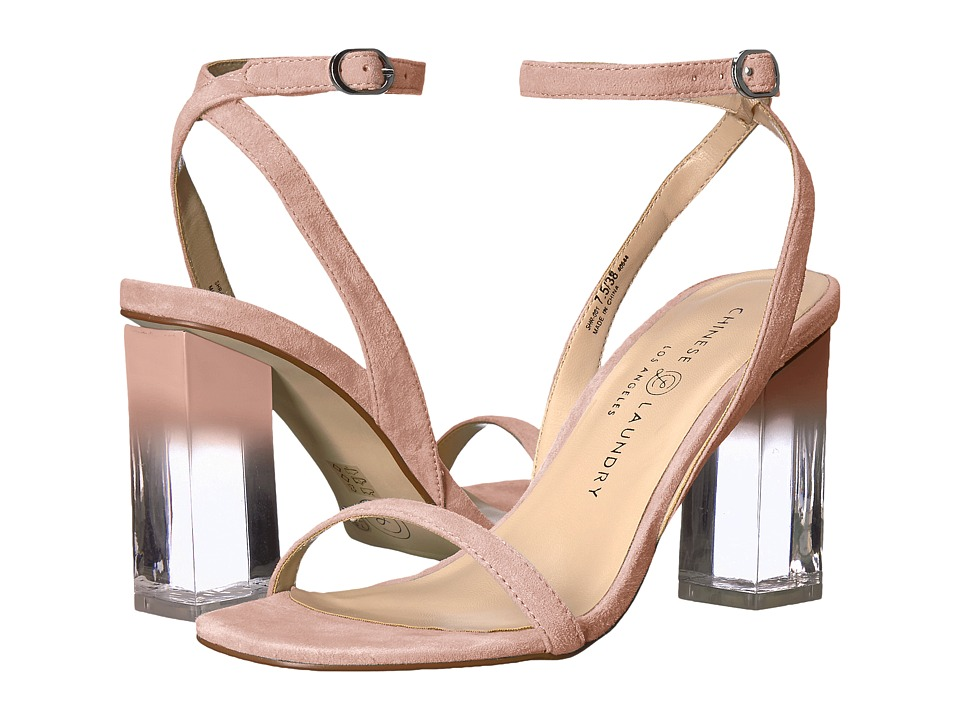 Chinese Laundry Shanie (Pink Kid Suede) High Heels