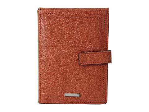 Lodis Accessories Stephanie RFID Under Lock & Key Passport Wallet w/ Ticket Flap - Orange