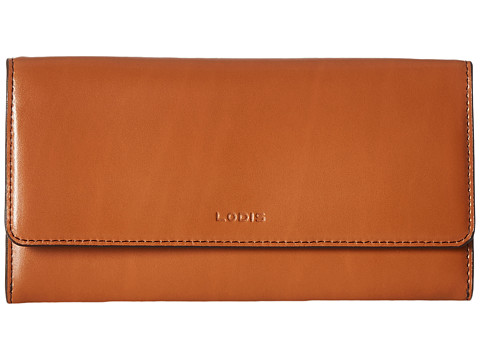Lodis Accessories Audrey Cami Clutch Wallet - Toffee