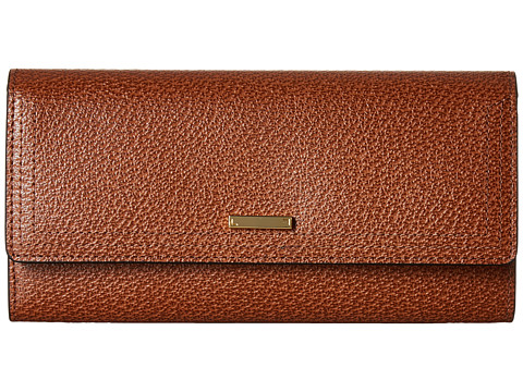 Lodis Accessories Stephanie Under Lock & Key Cami Clutch Wallet - Chestnut