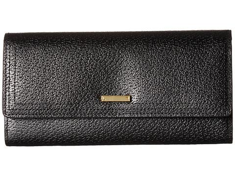 Lodis Accessories Stephanie Under Lock & Key Cami Clutch Wallet - Black
