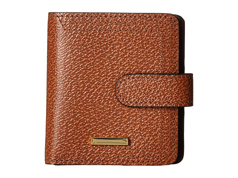 Lodis Accessories Stephanie Under Lock & Key Petite Card Case Wallet - Chestnut