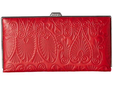 Lodis Accessories Denia Quinn Clutch Wallet - Red