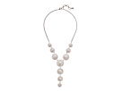 Lucky Brand - Pearl Circle Y Necklace