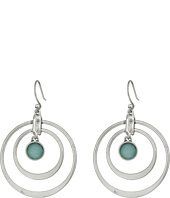 Lucky Brand - Seafoam Hoop Earrings