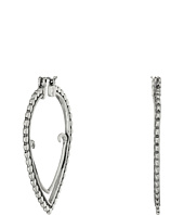 Lucky Brand - Open Teardrop Hoop Earrings