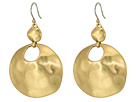 Lucky Brand - Organic Circle Drop Earrings