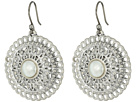 Lucky Brand - Openwork Circle Drop Earrings