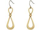 Lucky Brand - Hoop Drop Earrings