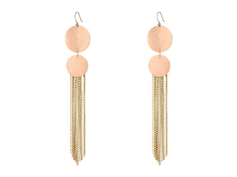 Lucky Brand Rose Gold and Gold Drama Earrings - Two-Tone