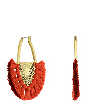 Lucky Brand - Openwork Statement Earrings with Tassels