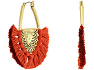 Lucky Brand Openwork Statement Earrings with Tassels