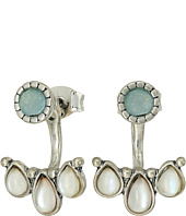Lucky Brand - Seafoam Ear Jacket Earrings