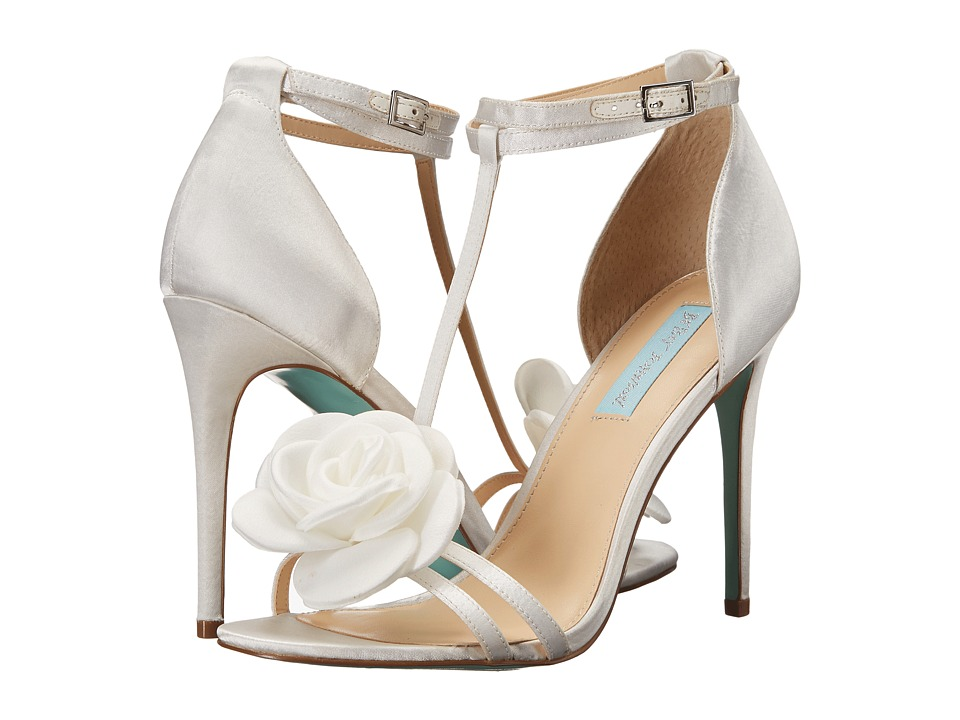Blue by Betsey Johnson Emme (Ivory Satin) Women