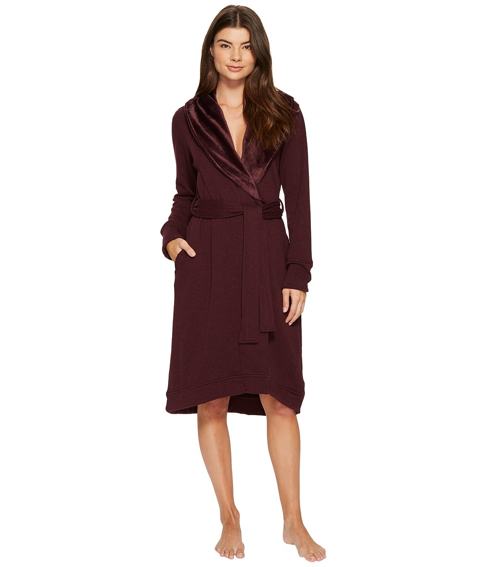 Ugg Duffield Robe (Port Heather) Women's Robe