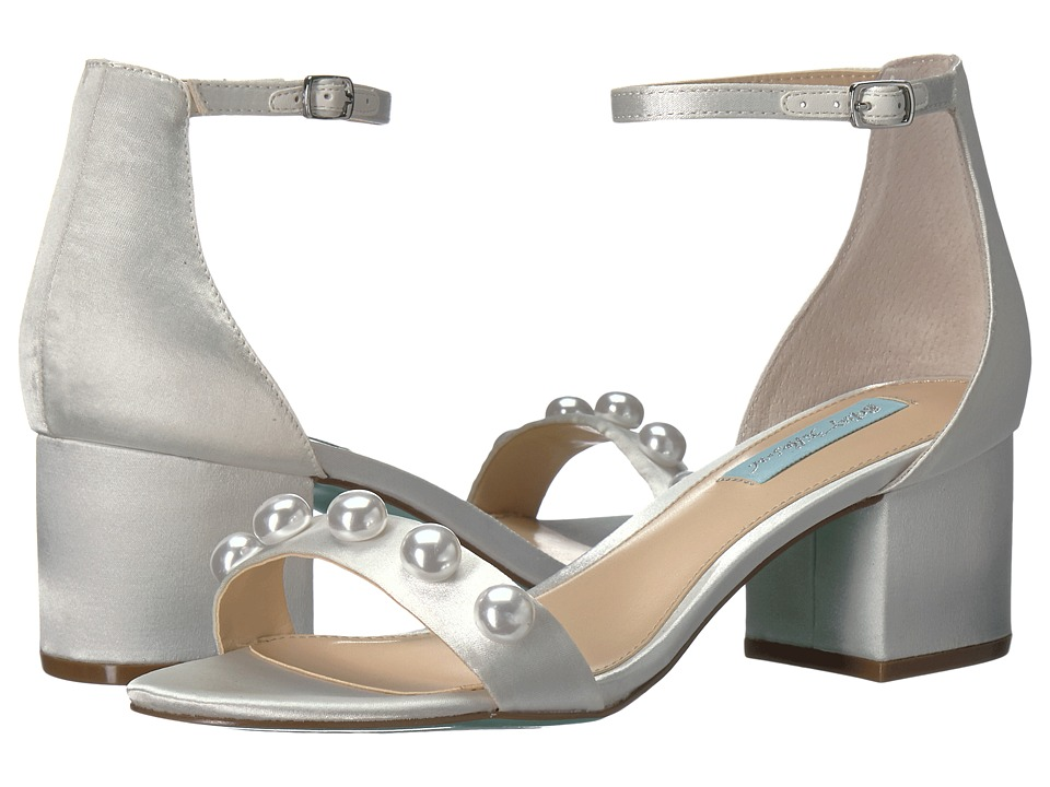 Blue by Betsey Johnson Jaden (Ivory Satin) Women