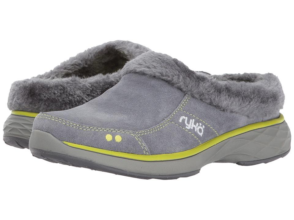 Ryka Luxury (Slate Grey/Bright Chartreuse) Women
