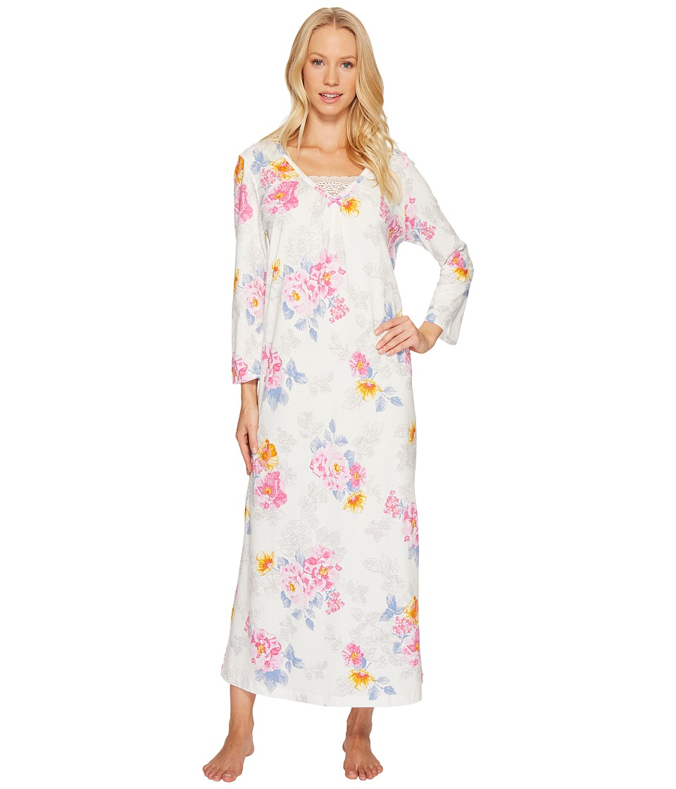 Carole Hochman - 3/4 Sleeve Cotton Gown