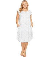 Carole Hochman - Plus Size Jersey Cotton Gown