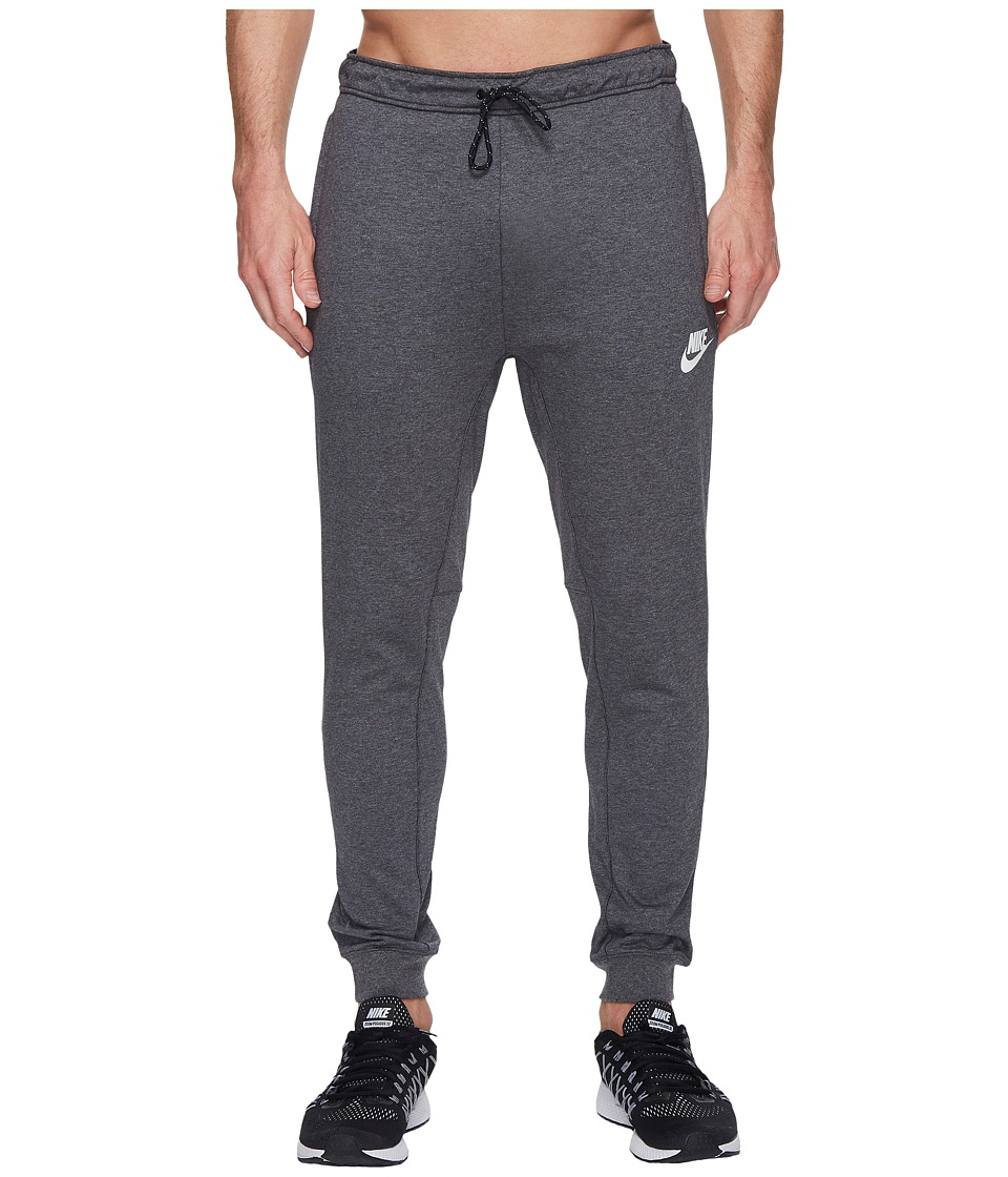 Nike Sportswear Advance 15 Jogger (Charcoal Heather/Black/White) Men