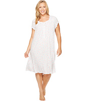 Eileen West - Plus Size Cotton Waltz Nightgown