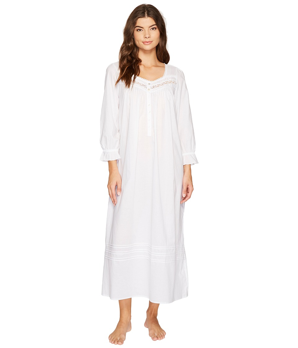 Eileen West - Cotton Lawn Ballet Long Sleeve Nightgown