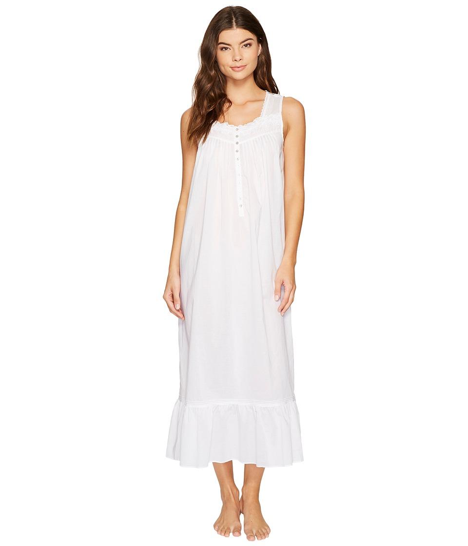 Eileen West - Cotton Lawn Printed Ballet Nightgown