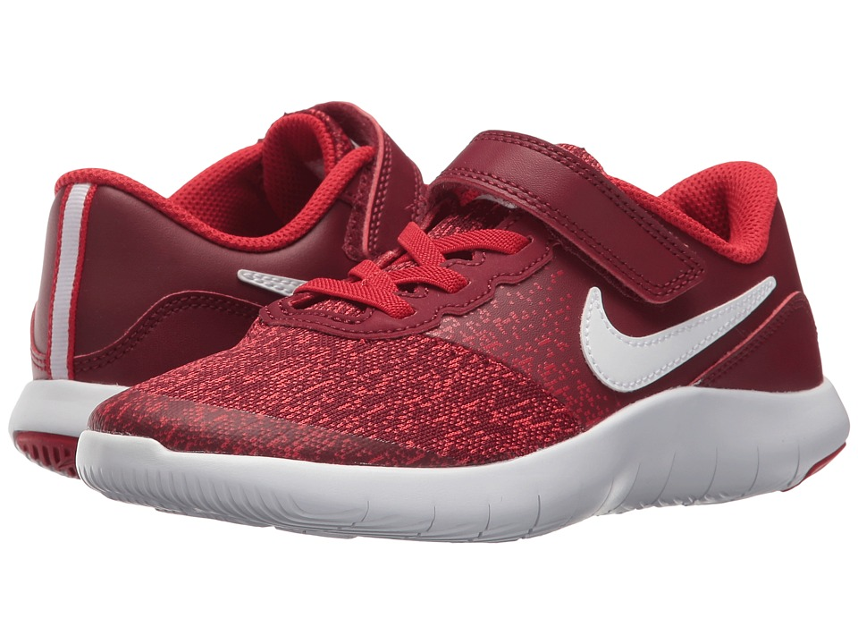Nike Kids Flex Contact (Little Kid) (Team Red/White/University Red) Boys Shoes