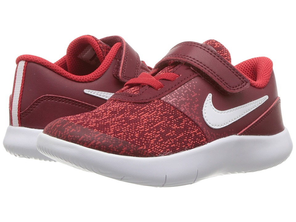 Nike Kids Flex Contact (Infant/Toddler) (Team Red/White/University Red) Boys Shoes