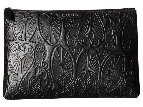 Lodis Accessories Denia Flat Pouch - Black