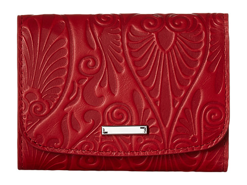 Lodis Accessories Denia Mallory French Purse - Red
