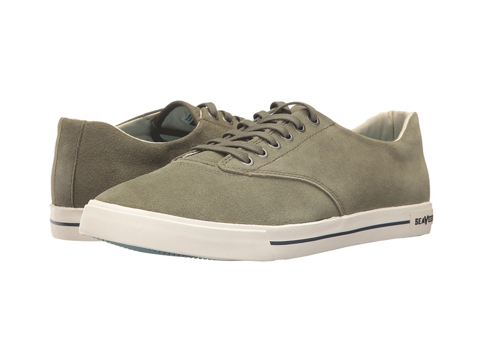 SeaVees Hermosa Plimsoll Varsity (Dark Sage) Boys Shoes