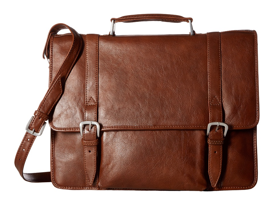 Scully Cameron Laptop Brief (Tan) Computer Bags