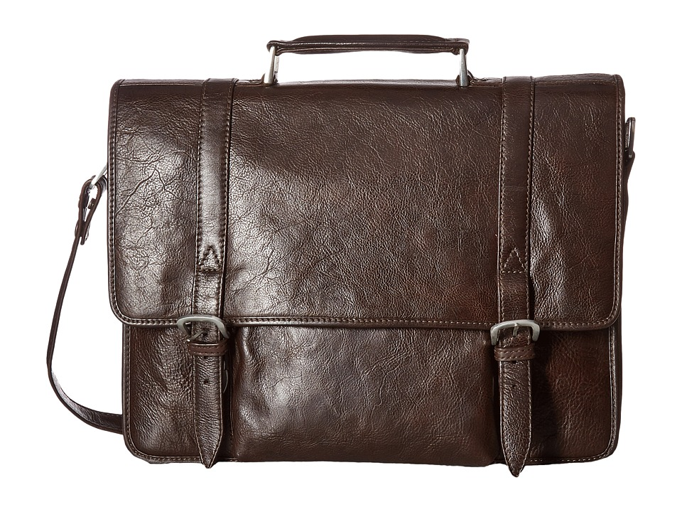Scully Cameron Laptop Brief (Brown) Computer Bags
