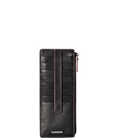 Lodis Accessories - Mill Valley Under Lock & Key Credit Card Case with Zipper Pocket