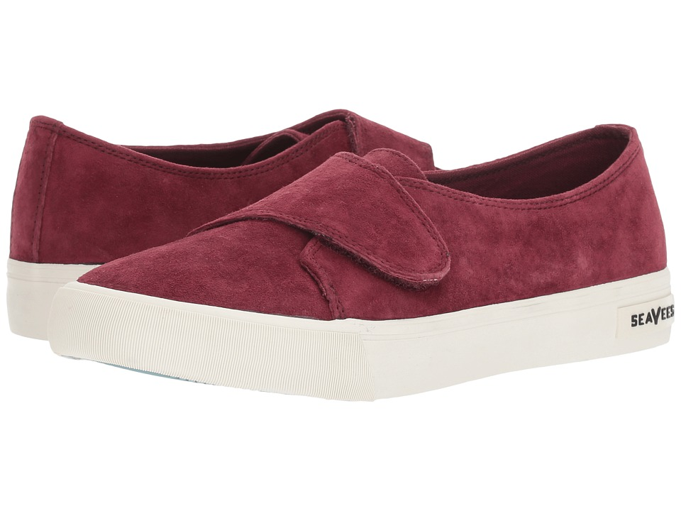 SeaVees Melrose Wrap Sneaker (Wine) Girls Shoes