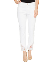 Ivanka Trump - Jean Pants with Lace Hem
